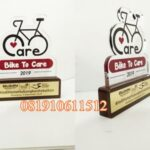 plakat akrilik bike to care