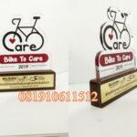 plakat akrilik bike to care